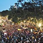 Los indignados toman Málaga