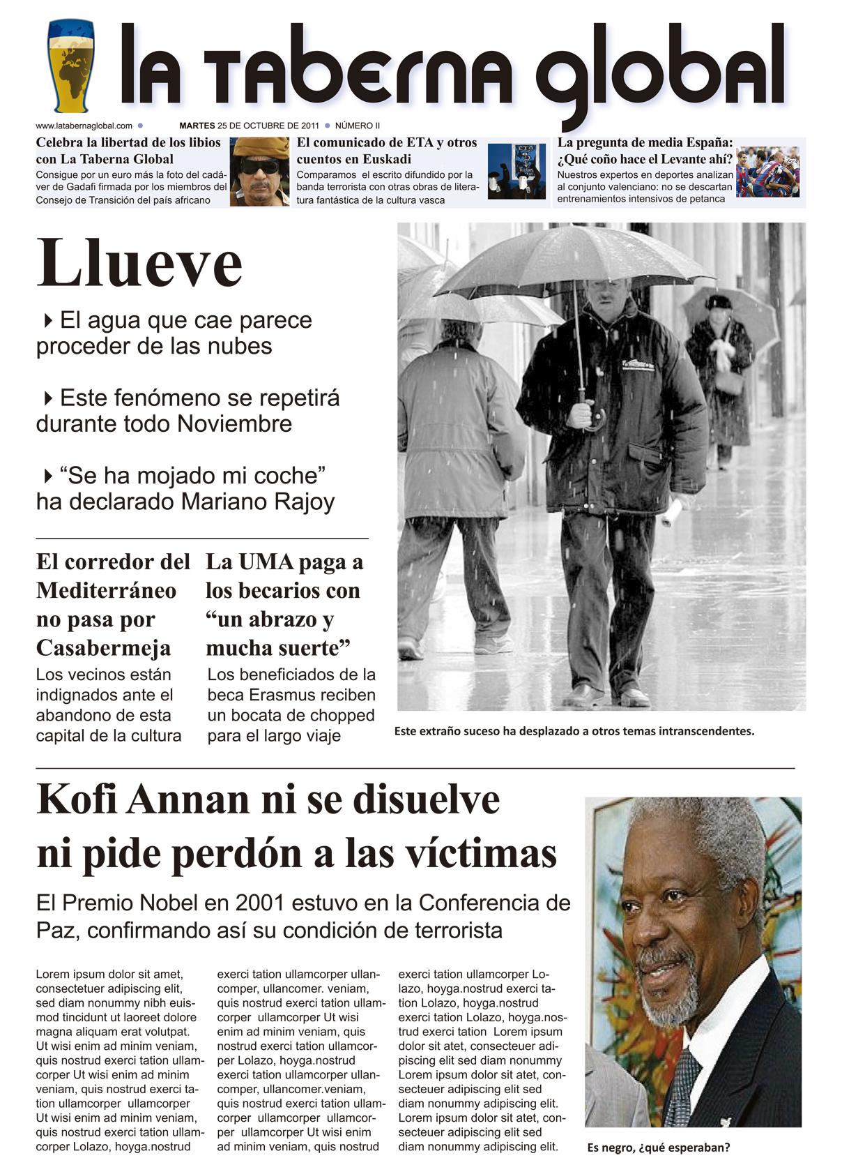 La portada satírica de LTG 25/10/11