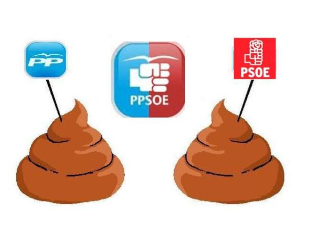 El PPSOE pierde más de 3 millones de votos  Ppsoe