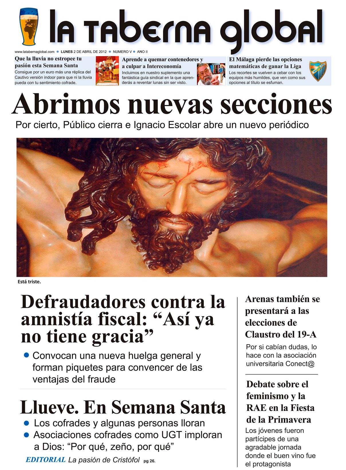 La portada satírica de LTG 02/04/12