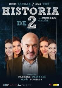 'Historia de 2′ homenajea a los maestros en el Teatro Alameda