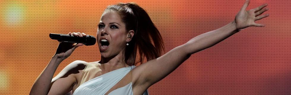 Una sueca haciendo el cangrejo vence a Pastora Soler en Eurovisión