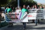 Un millar de estudiantes se movilizan por el campus contra los Wertcortes
