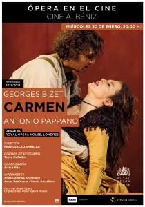 La Ópera en diferido regresa al Albéniz