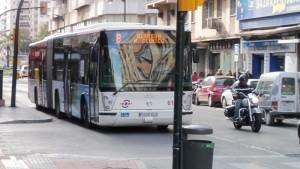 El Palo y Teatinos, unidos por bus a falta de metro