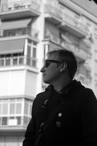 """Adolfo Díaz, cantante de Airbag: """"Me jode escribir con nostalgia"""""""