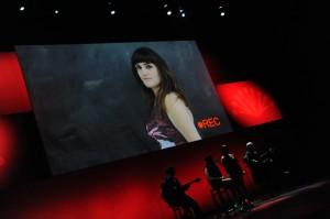 """Durante su actuación, mostraron el casting de Rozalén para """"Yo soy la Juani"""""""