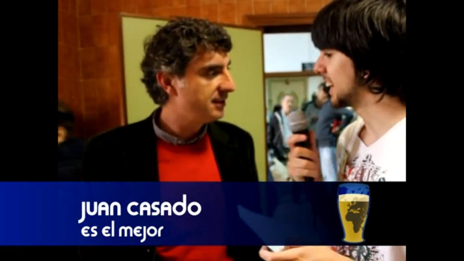 """Juan Casado, el mejor: """"Lo más reconfortante de ser profesor es notar que enseñas"""""""