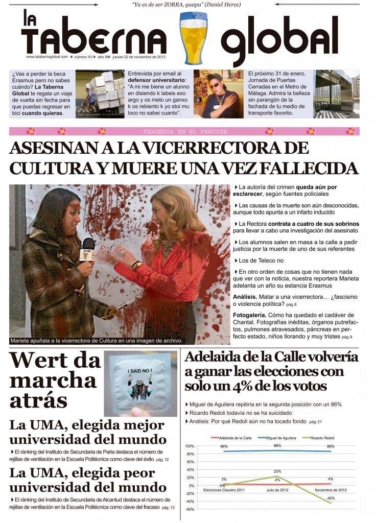 La portada satírica de LTG: 22/11/13
