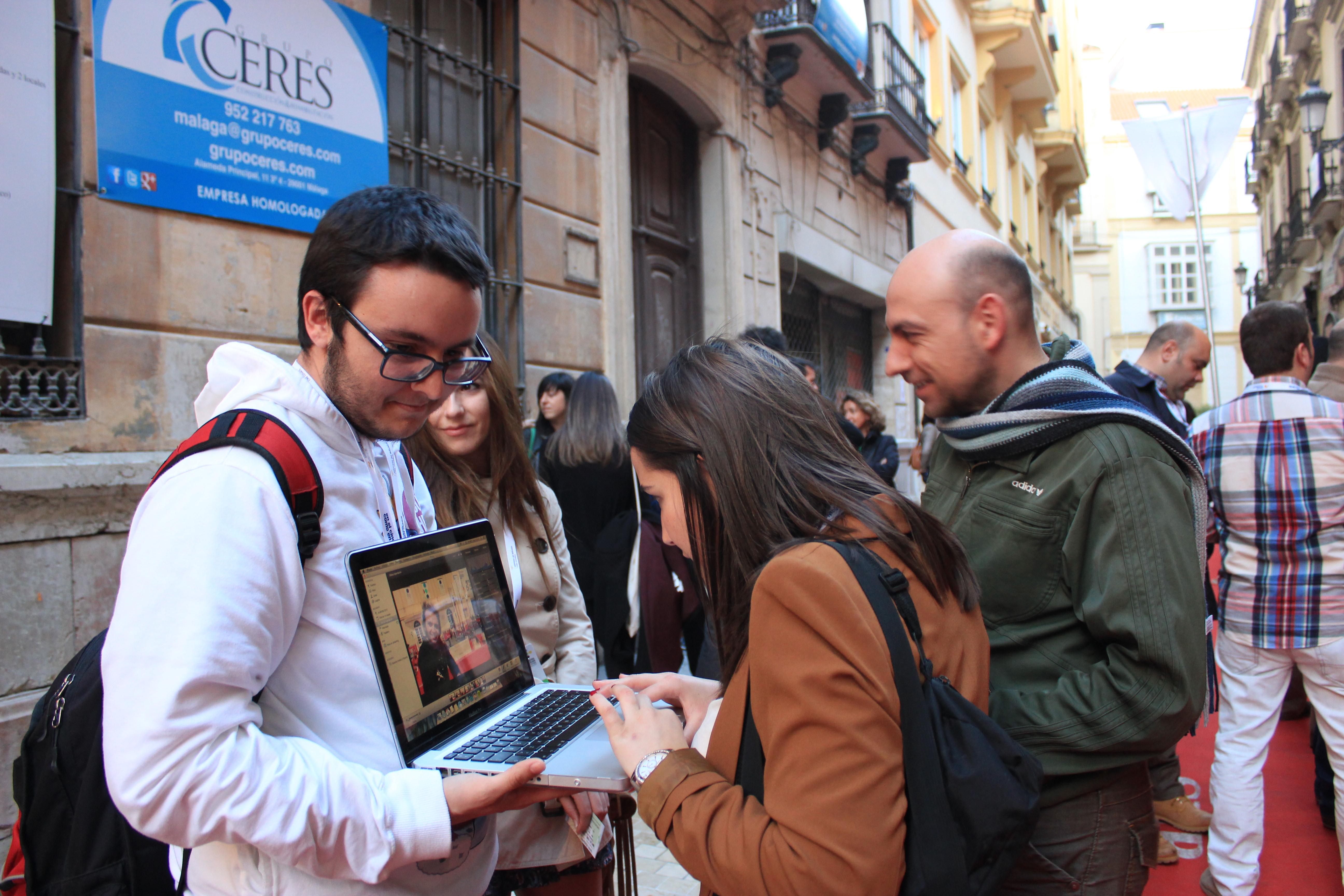 Periodismo.... ¡a pie de calle!