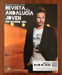 La revista de David DeMaría, cortesía de Carmen M.