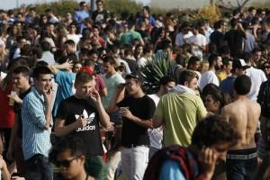 El botellón en Málaga, en punto muerto