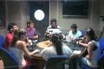 Radio Campus UMA, invocando en Ouija