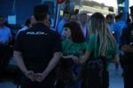 Control absoluto de Policía y organización en el mitin del PP en la UMA